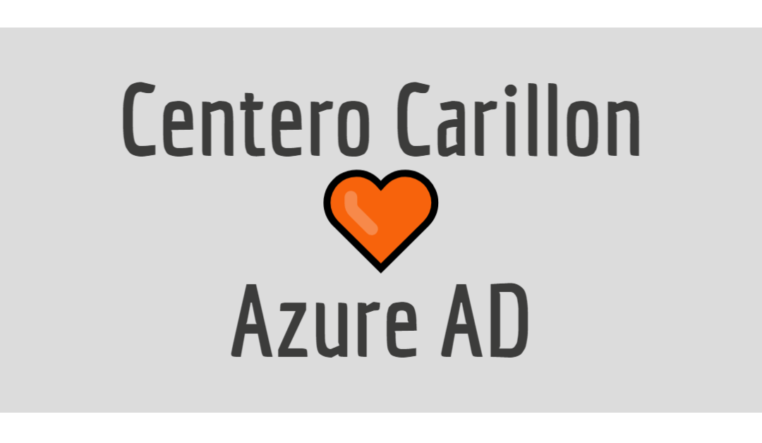 Centero's PAM product Carillon to Get Support for Azure AD